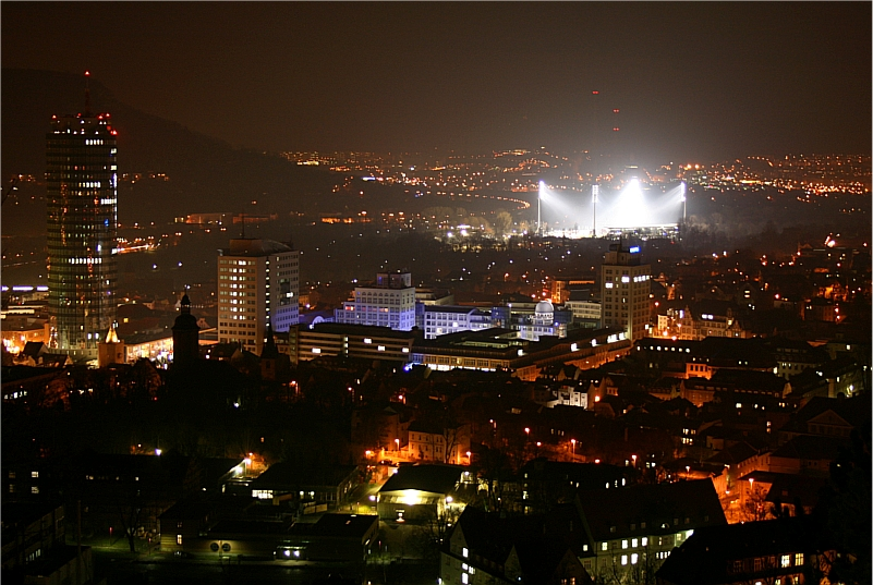 Jena at night