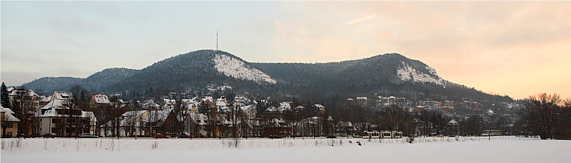 Jena at winter time